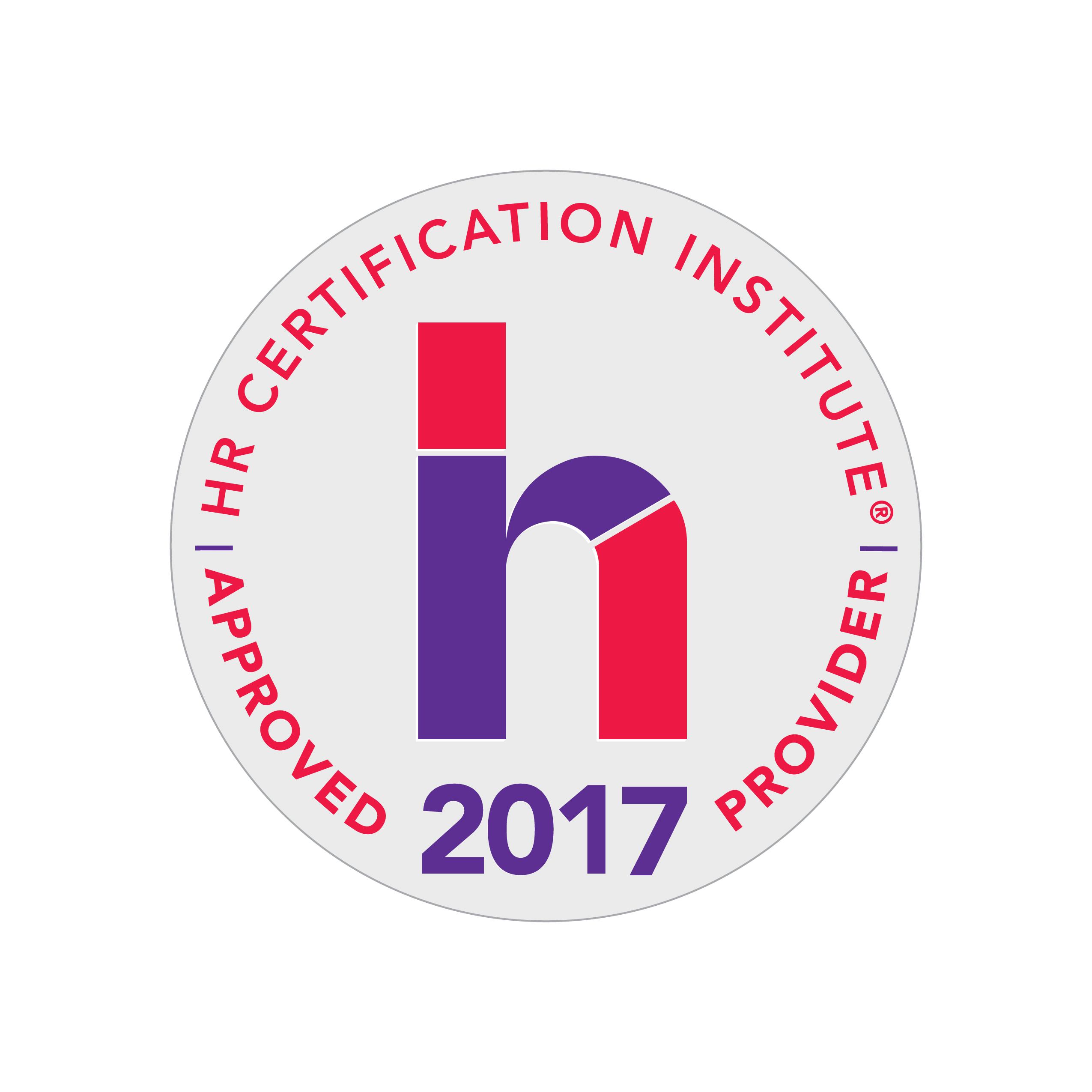 HRCI Approved Provider 2017 logo