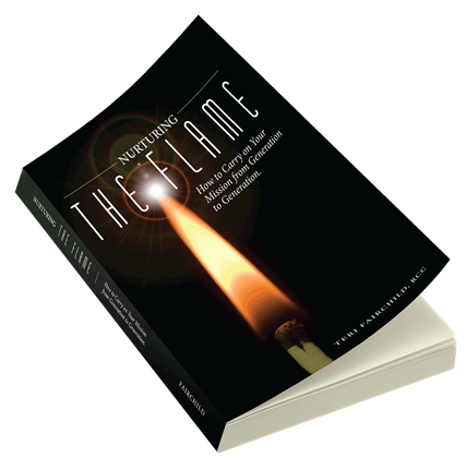 Author, Nurturing the Flame How to Carry on Your Mission from Generation to Generation