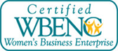 Certified Woman Owned Business - WBENC